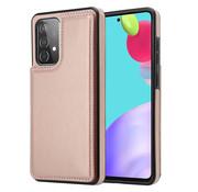 ShieldCase® Samsung Galaxy A52 wallet case (roze)
