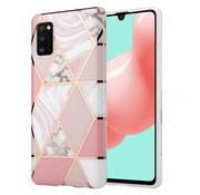 ShieldCase® Pink Pattern Samsung A41 hoesje (roze)