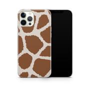 ShieldCase® Freaky Giraffe iPhone 12 Pro Max hoesje (bruin/wit)