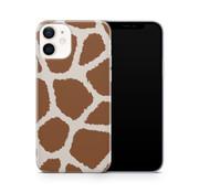 ShieldCase® Freaky Giraffe iPhone 12 Mini hoesje (bruin/wit)