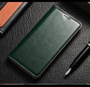 ShieldCase® Slim folio leren bookcase iPhone 11 (groen)