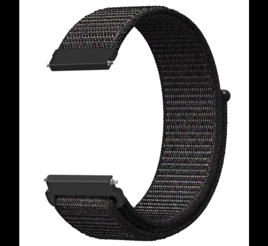 Garmin Vivoactive 3 nylon band (zwart)