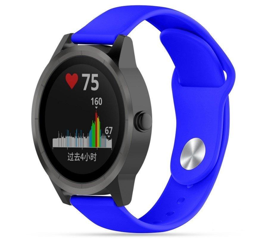 Garmin Vivoactive 3 sport bandje (blauw)