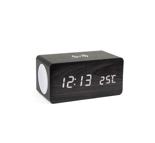 Coverzs Coverzs digitale wekker, speaker en draadloze oplader in één