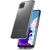 ShieldCase® Samsung Galaxy A22 5G ultra dun siliconen hoesje (transparant)