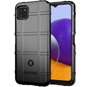 ShieldCase® Samsung Galaxy A22 5G schokbestendig TPU hoesje (zwart)