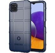 ShieldCase® Samsung Galaxy A22 5G schokbestendig TPU hoesje (blauw)