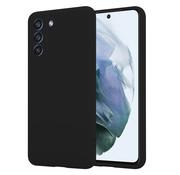 ShieldCase® Samsung Galaxy S21 FE hoesje siliconen (zwart)
