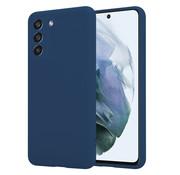 ShieldCase® Samsung Galaxy S21 FE hoesje siliconen (blauw)