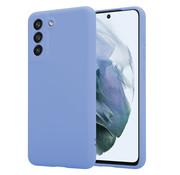 ShieldCase® Samsung Galaxy S21 FE hoesje siliconen (paars)