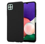ShieldCase® Samsung Galaxy A22 5G ultra slim case (zwart)