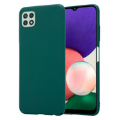 ShieldCase® Samsung Galaxy A22 5G ultra slim case (groen)
