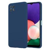 ShieldCase® Samsung Galaxy A22 5G hoesje siliconen (blauw)