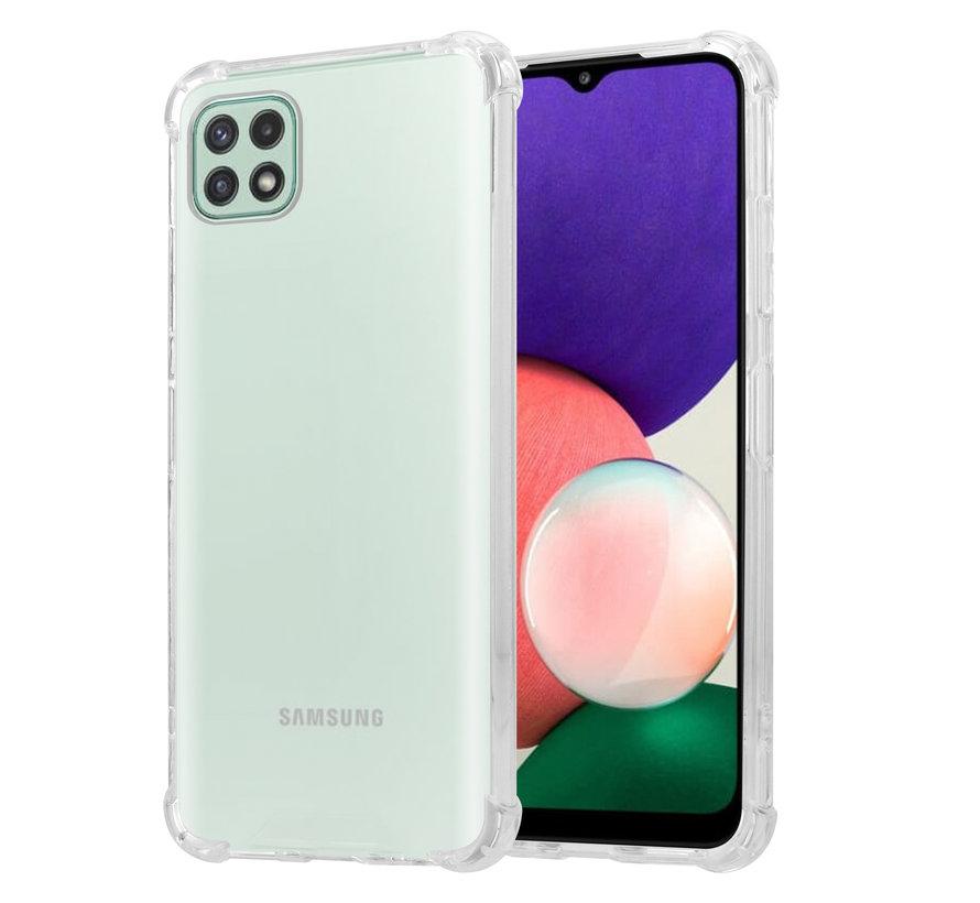 ShieldCase Shock case Samsung Galaxy A22 5G (transparant)