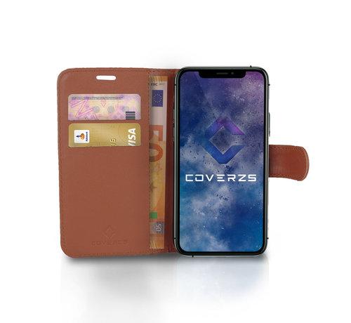 Coverzs Coverzs Samsung Galaxy S21 bookcase hoesje (bruin)