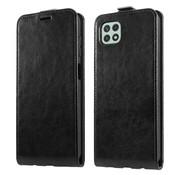 ShieldCase® Samsung Galaxy A22 5G Flip case (zwart)