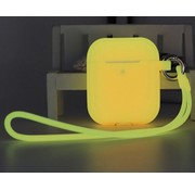 ShieldCase® Airpods case glow in the dark (geel)