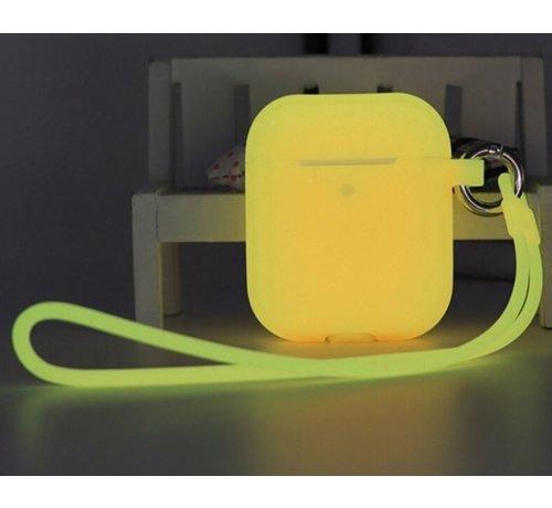 ShieldCase® Shieldcase Airpods case glow in the dark (geel)