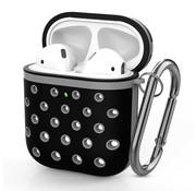 ShieldCase® Airpods silicone case (zwart/grijs)