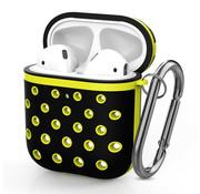 ShieldCase® Airpods silicone case (zwart/geel)