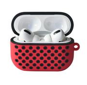 ShieldCase® Airpods Pro silicone case (rood/zwart)