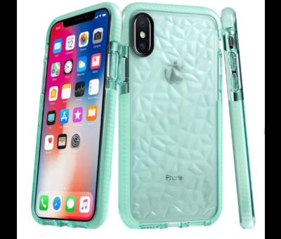 ShieldCase® ShieldCase You're A Diamond iPhone X / Xs hoesje (groen)