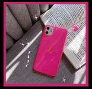 ShieldCase® Fluoriserend hoesje iPhone 11 (roze)