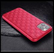 ShieldCase® Geblokt iPhone 11 hoesje (rood)