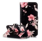 ShieldCase® Flower Power iPhone X / Xs bookcase