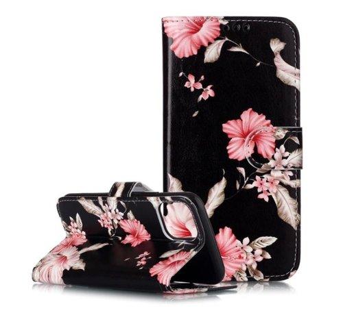 ShieldCase® Shieldcase Flower Power iPhone 12 Pro bookcase