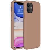 ShieldCase® Silicone case iPhone 11 (lichtbruin)