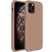 ShieldCase® Silicone case iPhone 11 Pro (lichtbruin)