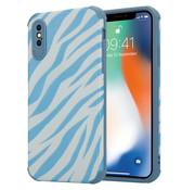 ShieldCase® Blue Zebra iPhone X / Xs case