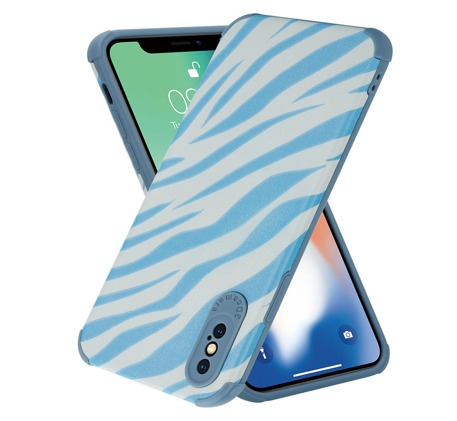 ShieldCase Blue Zebra iPhone X / Xs case