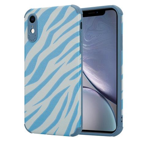 ShieldCase® ShieldCase Blue Zebra iPhone Xr case