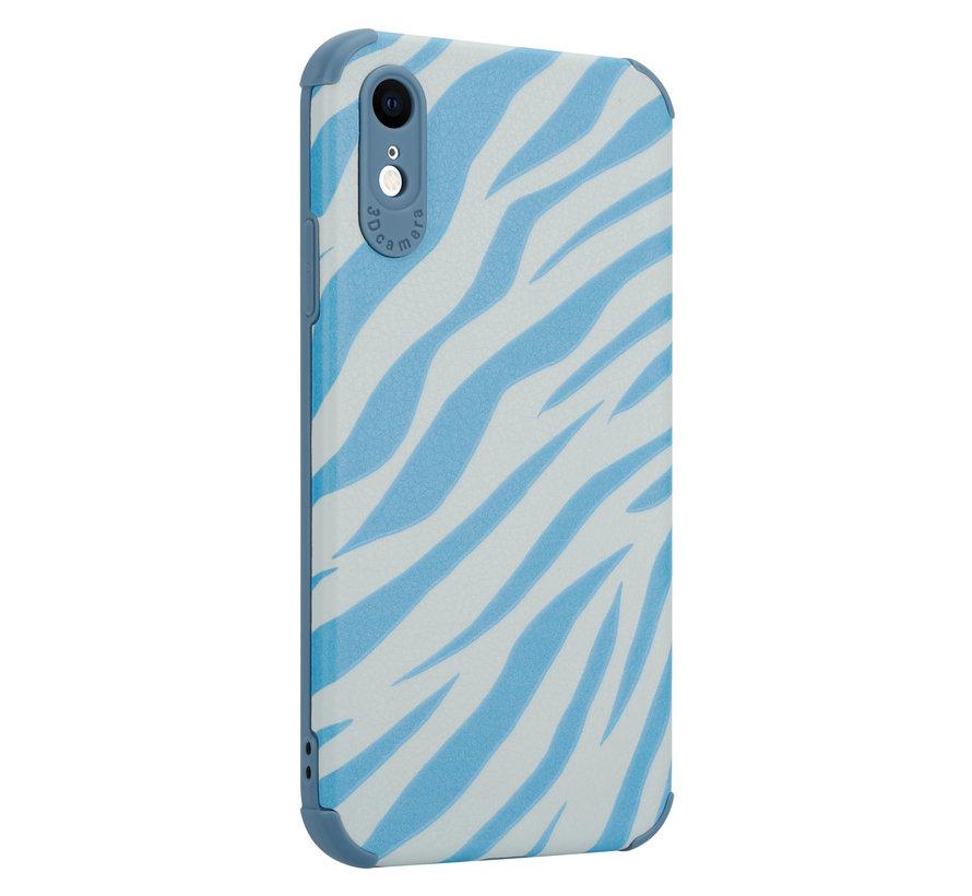 ShieldCase Blue Zebra iPhone Xr case