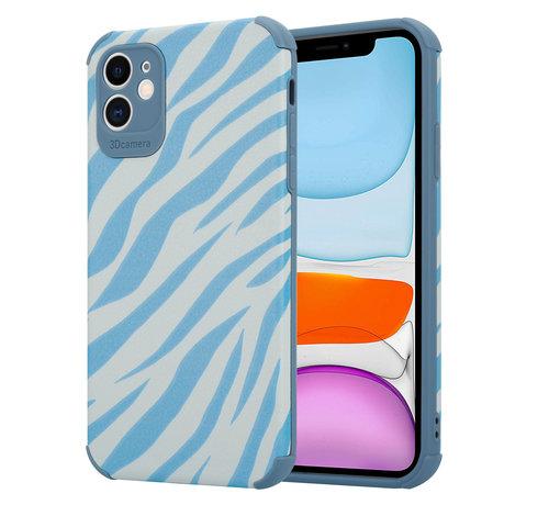 ShieldCase® ShieldCase Blue Zebra iPhone 11 case