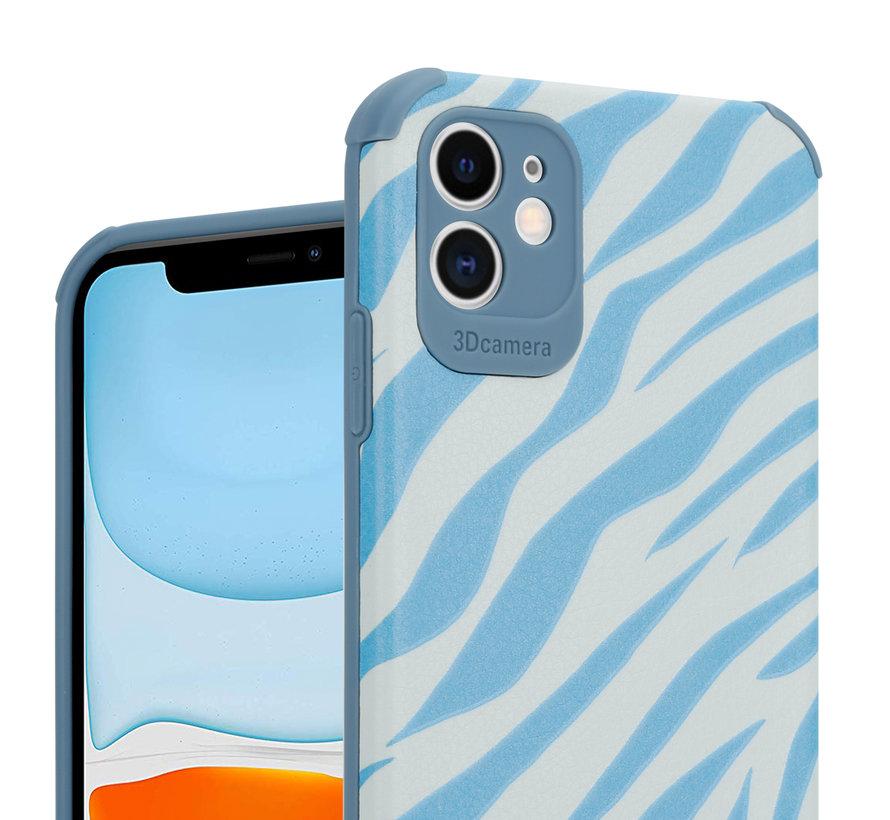 ShieldCase Blue Zebra iPhone 11 case