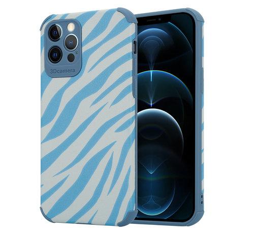 ShieldCase® ShieldCase Blue Zebra iPhone 12 Pro case