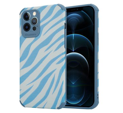 ShieldCase® ShieldCase Blue Zebra iPhone 12 Pro Max case