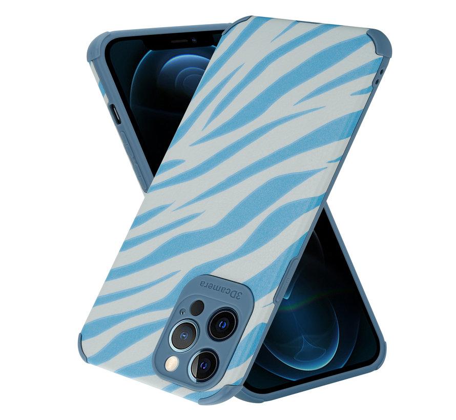 ShieldCase Blue Zebra iPhone 12 Pro Max case