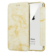 ShieldCase® Marble Gold iPhone X / Xs Wallet flip case