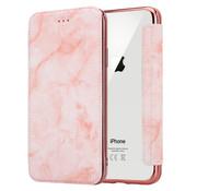 ShieldCase® Marble Rose Gold iPhone X / Xs Wallet flip case