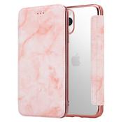 ShieldCase® Marble Rose Gold iPhone 11 Pro Max Wallet flip case