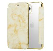 ShieldCase® Marble Gold iPhone 11 Pro Max Wallet flip case