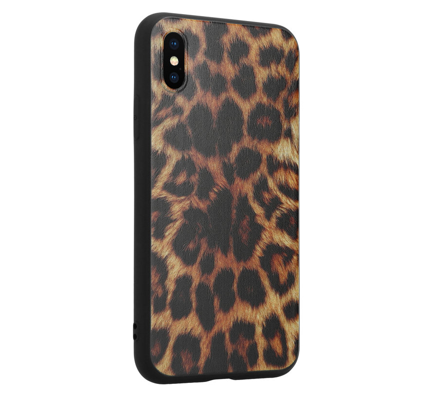ShieldCase Brown Panther iPhone X / Xs hoesje