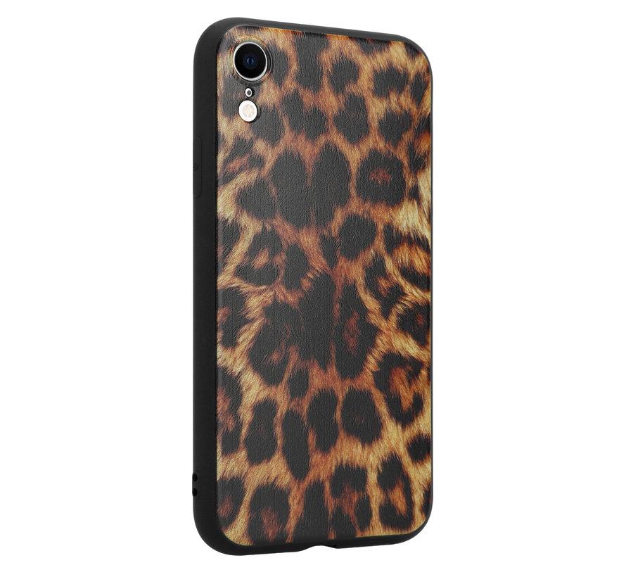 ShieldCase Brown Panther iPhone Xr hoesje