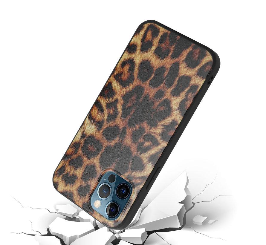 ShieldCase Brown Panther iPhone 12 Pro hoesje