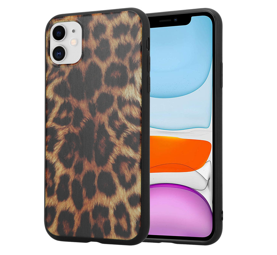 ShieldCase Brown Panther iPhone 12 hoesje
