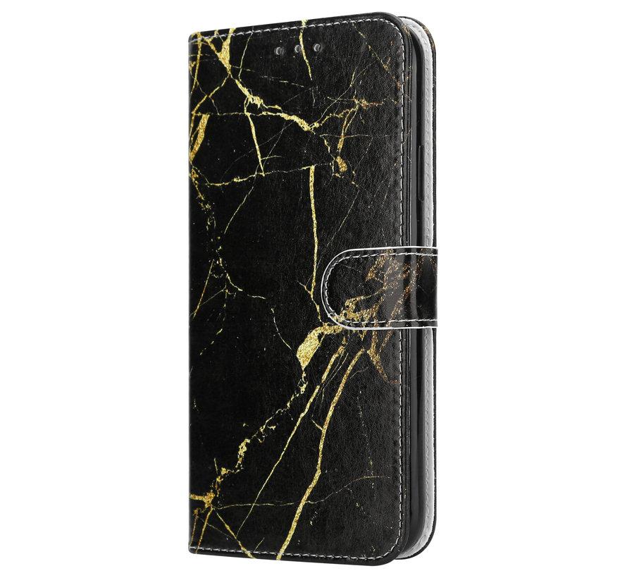 Shieldcase Amazing Black Marmer iPhone 11 Pro Bookcase